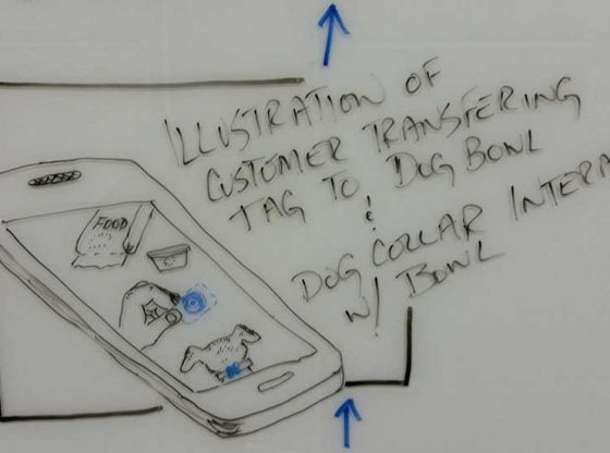 Storyboard of app demo for Sales