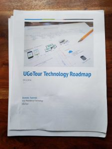Mobile app technology roadmap document cover